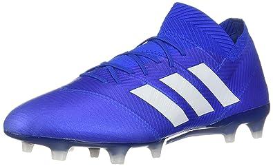 01132e2945d adidas Nemeziz 18.1 FG Cleat - Men s Soccer 6.5 Football Blue White