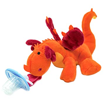 Amazon.com: Dragón Chupete con Animal de peluche – Baby ...