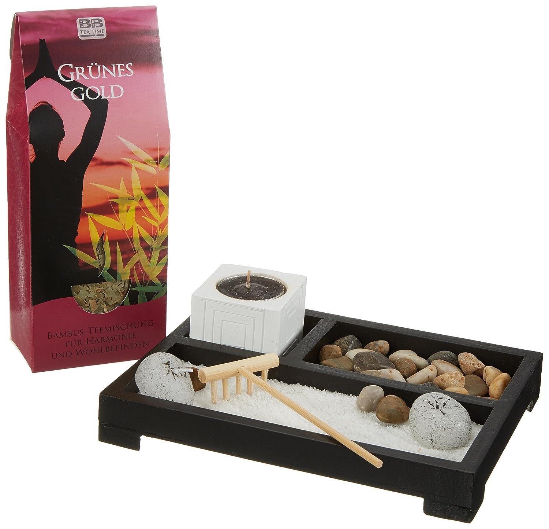 Geschenk Set \'Zengarten + Tee\': Amazon.de: Lebensmittel & Getränke