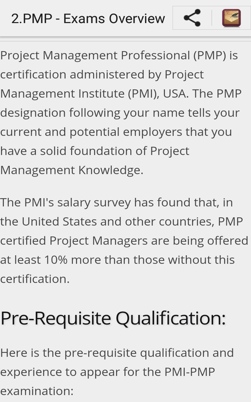 Learn Pmp Exams Amazon Appstore For Android