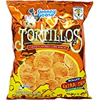 Granny Goose Cheese Tortillos Chips - 100 gm
