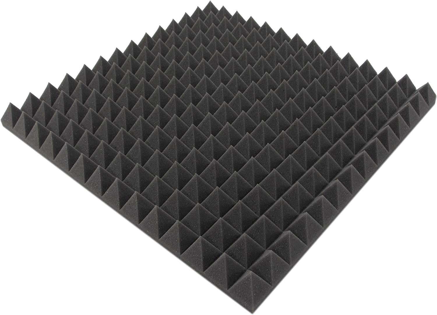 Noise Protection / 1/ M/²/  Acoustic Insulation / 4/ St / Acoustic Foam aprox Akustikpur/  Acoustic Foam Insulation Formas Acoustic Foam Pyramids 50/ cm x 50/ cm x 5/ cm/