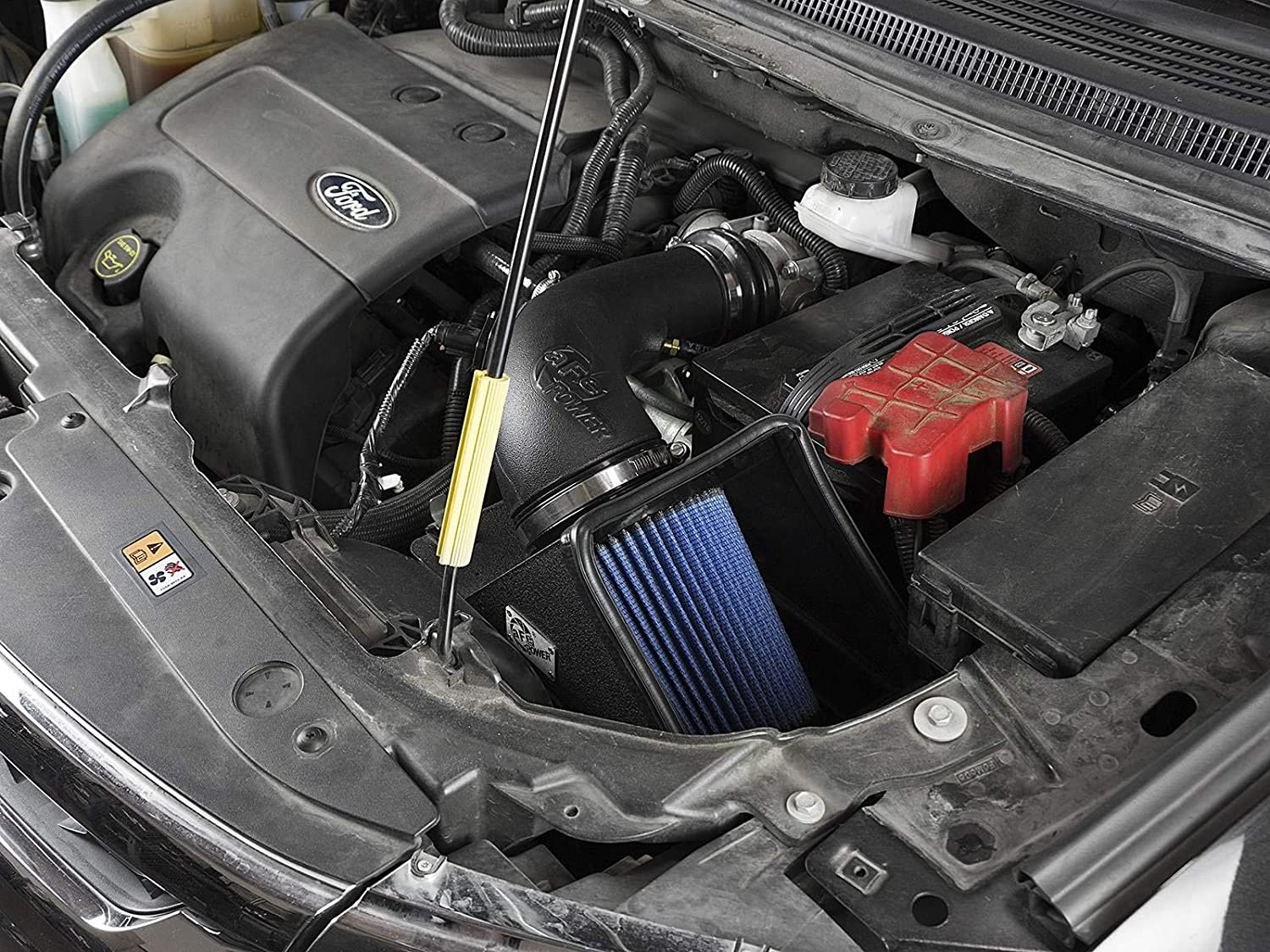 aFe Power Magnum Force 54-12842 Performance Cold Air Intake System Oiled, 5-Layer Filter