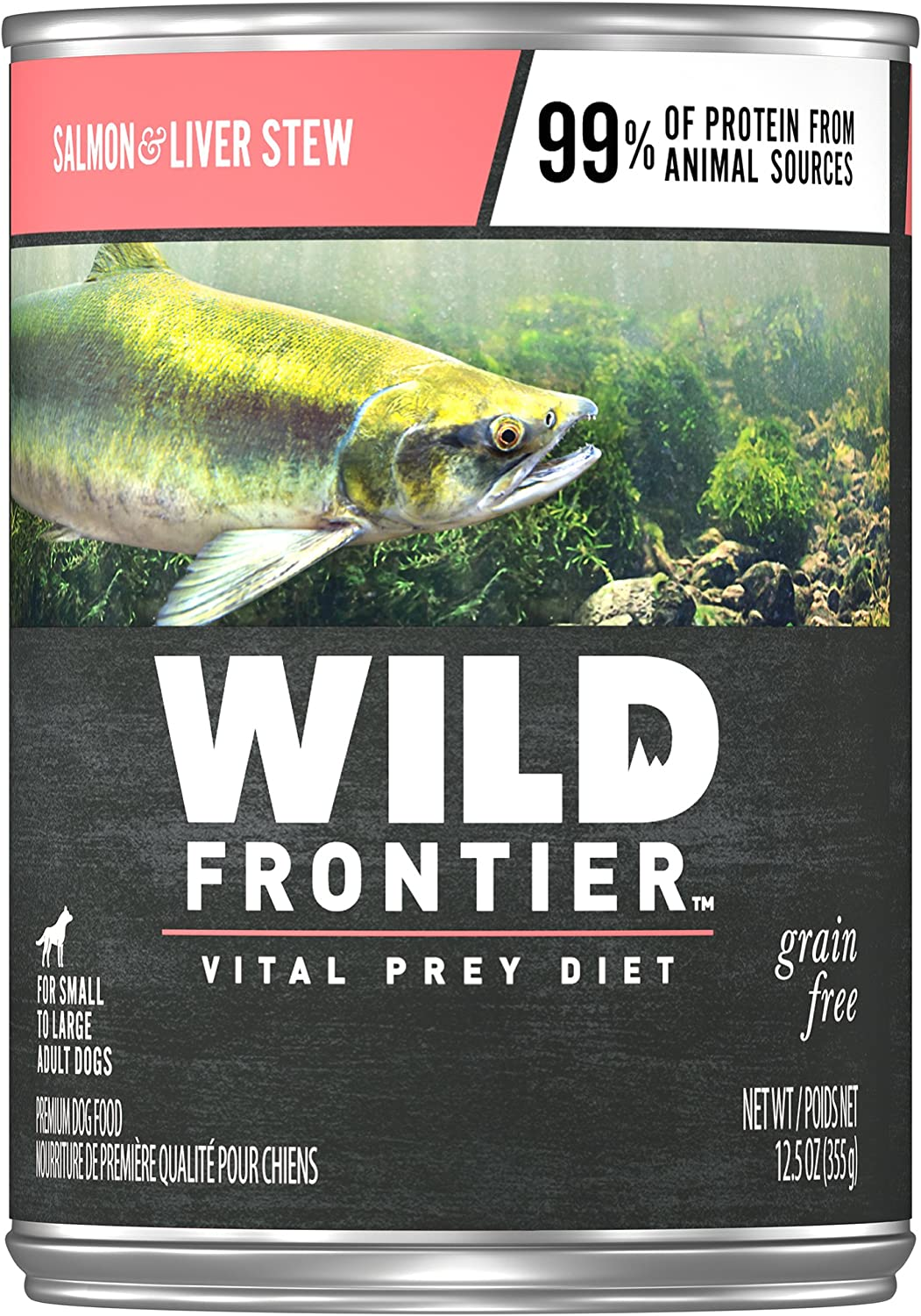 Wild Frontier Wet Dog Food, Chicken Stew