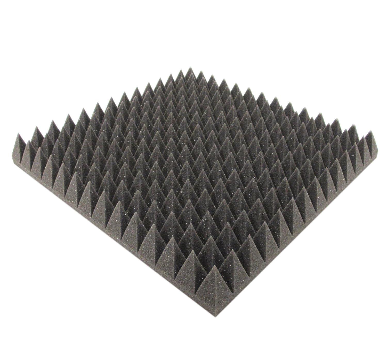50 cm x 50 cm x 7 cm - ignífuga. - Espuma acústica, pisos) Espuma acústica, acústica aislamiento: Amazon.es: Bricolaje y herramientas