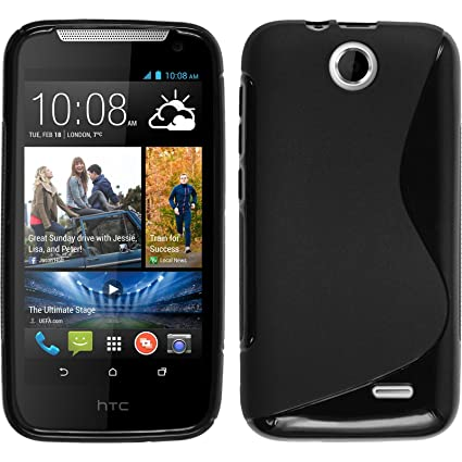 Amazon.com: Carcasa de silicona para HTC Desire 310, color ...