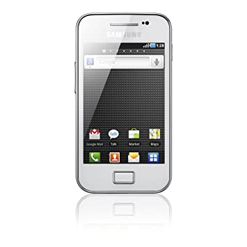 Samsung Galaxy Ace S5830i Smartphone 89 Cm 35 Zoll Touchscreen 5 Megapixel Kamera Android Betriebssystem Pure White