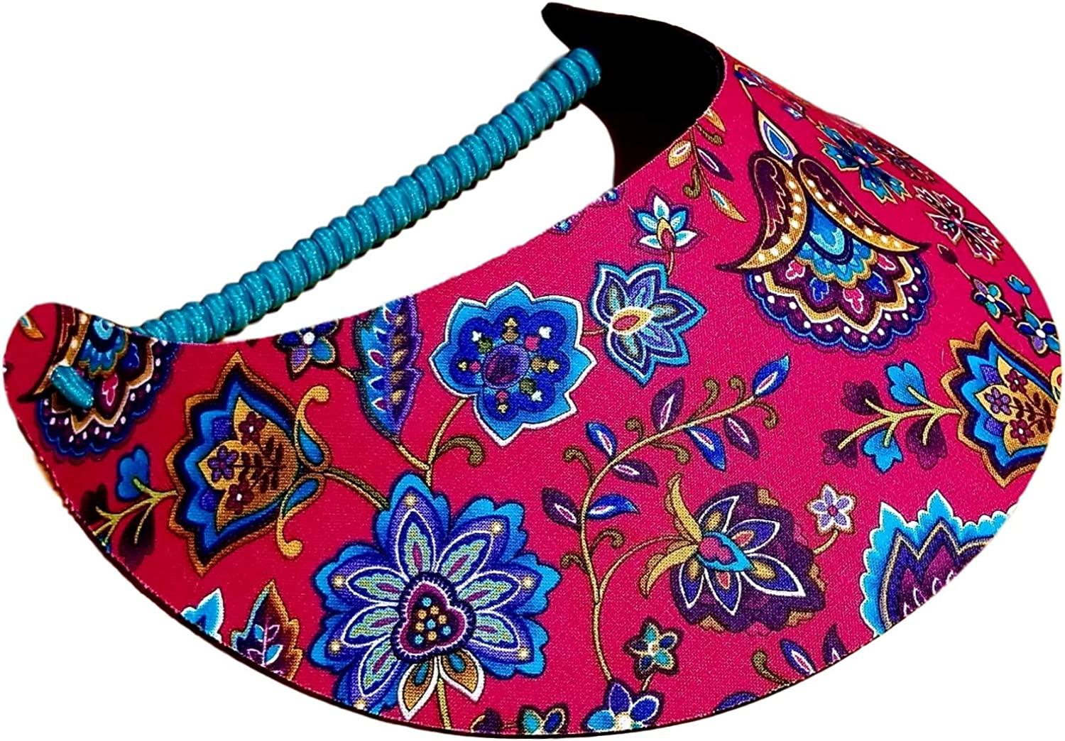 The Incredible Sunvisor Flower Patterns Perfect for Summer Made in The USA!!