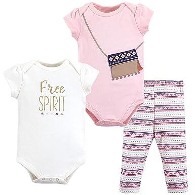 e5de2f3fadc9 Amazon.com  Little Treasure Baby Bodysuit and Pant Set  Clothing
