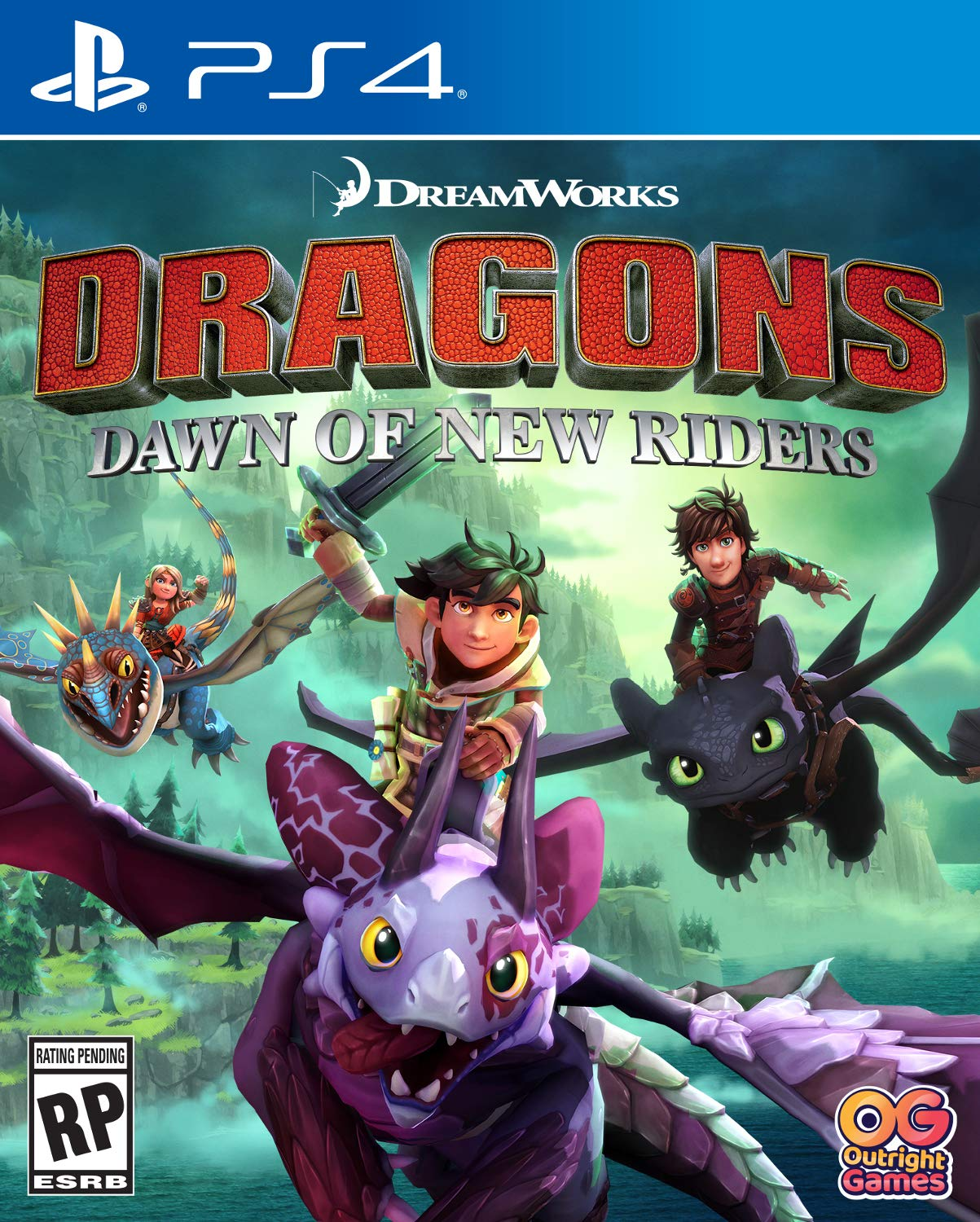 Dragons: Dawn of New Riders - PlayStation 4