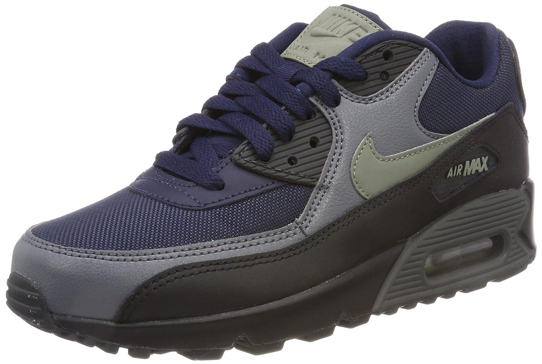NIKE Men's Air Max 90 Essential Running Shoe B076BCQZ79 6 D(M) US|Obsidian/Dark Stucco-black