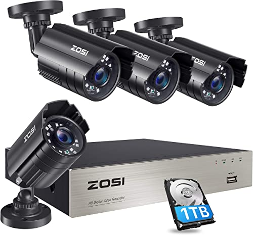 ZOSI 1080P Security Camera System