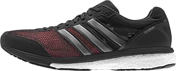 adidas Adizero Boston 5 M, Zapatillas de Running para Hombre, Negro/Gris/Blanco (Negbas/Plamet/Ftwbla), 41 1/3 EU: Amazon.es: Zapatos y complementos