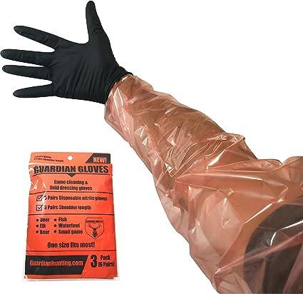 Hunter Specialties Shoulder Length Field Dressing Gloves