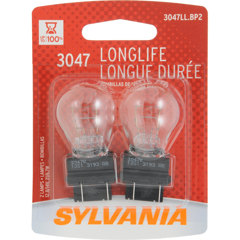 Sylvania 3047 Long Life Miniature Bulb Contains 2 Chevy 1996 K2500hd Pink Wiring Bulbs Automotive