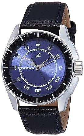 4322b86e7 Buy Fastrack Black Magic Analog Blue Dial Men s Watch -NK3089SL01 ...