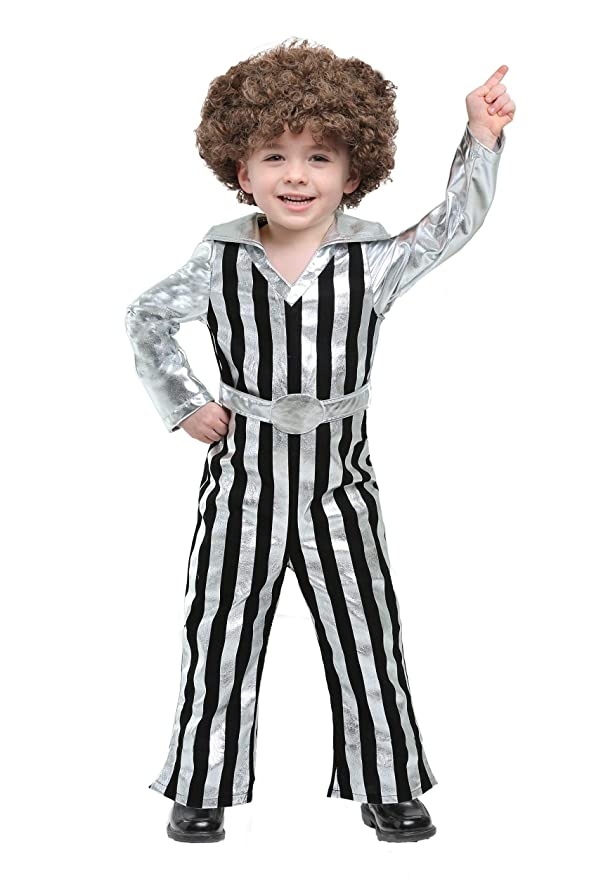 60s 70s Kids Costumes & Clothing Girls & Boys Dazzling Disco Dude Toddler Costume $19.99 AT vintagedancer.com