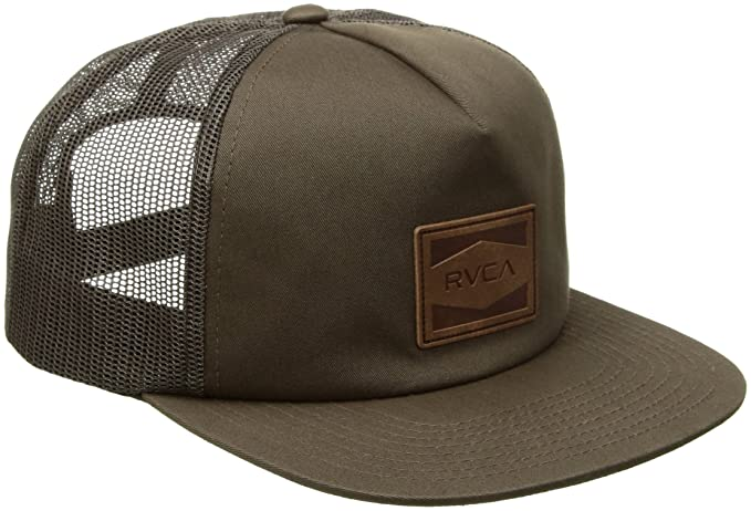 sale retailer 7e10f 2b90a ... coupon for rvca mens washburn trucker hat burnt olive one size e40cb  10b15