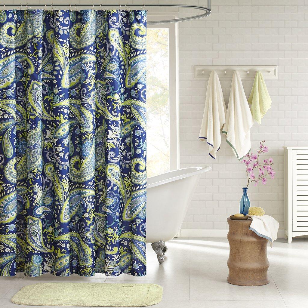 Amazon.com: Intelligent Design ID70-055 Melissa Shower Curtain, 72 ...
