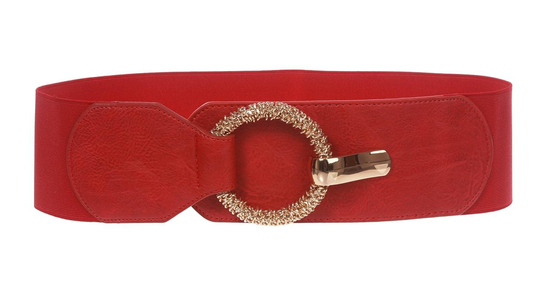 Beltiscool, cintura a vita alta elasticizzata da donna alla moda 724109