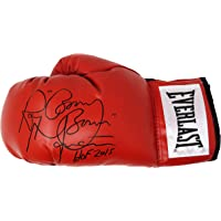 $71 » Ray Mancini Signed Everlast Red Boxing Glove w/Boom Boom, HOF 2015