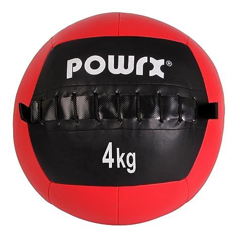 Balón medicinal Wall Ball, 1-10 kg, 4 kg / Rot: Amazon.es ...