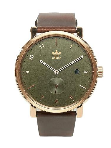 adidas Relojes Hombres Accesorios/Reloj Distrito LX2 Oro Color Estándar Tamaño: Amazon.es: Relojes