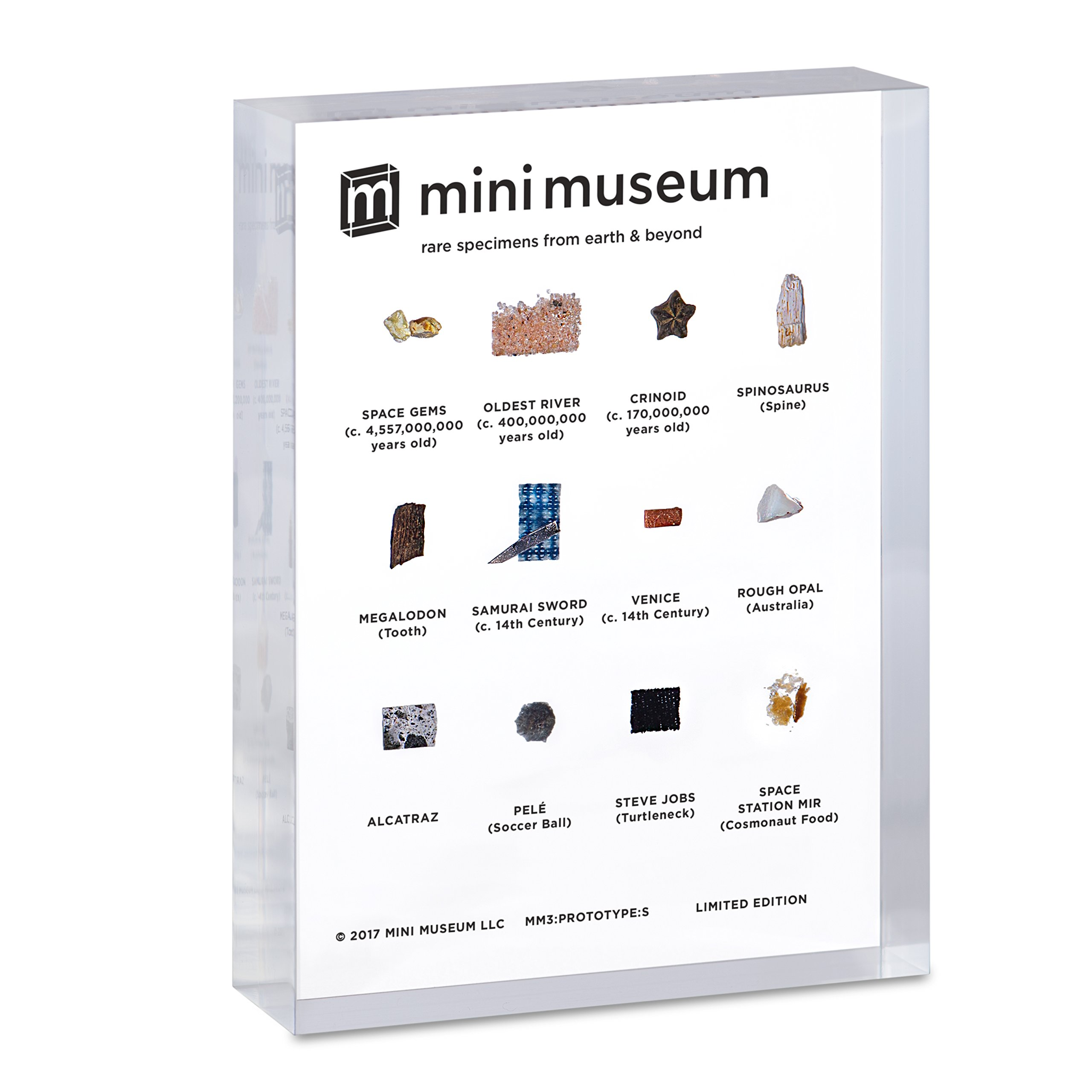 Mini Museum | Science and History Collection | 12 Specimens