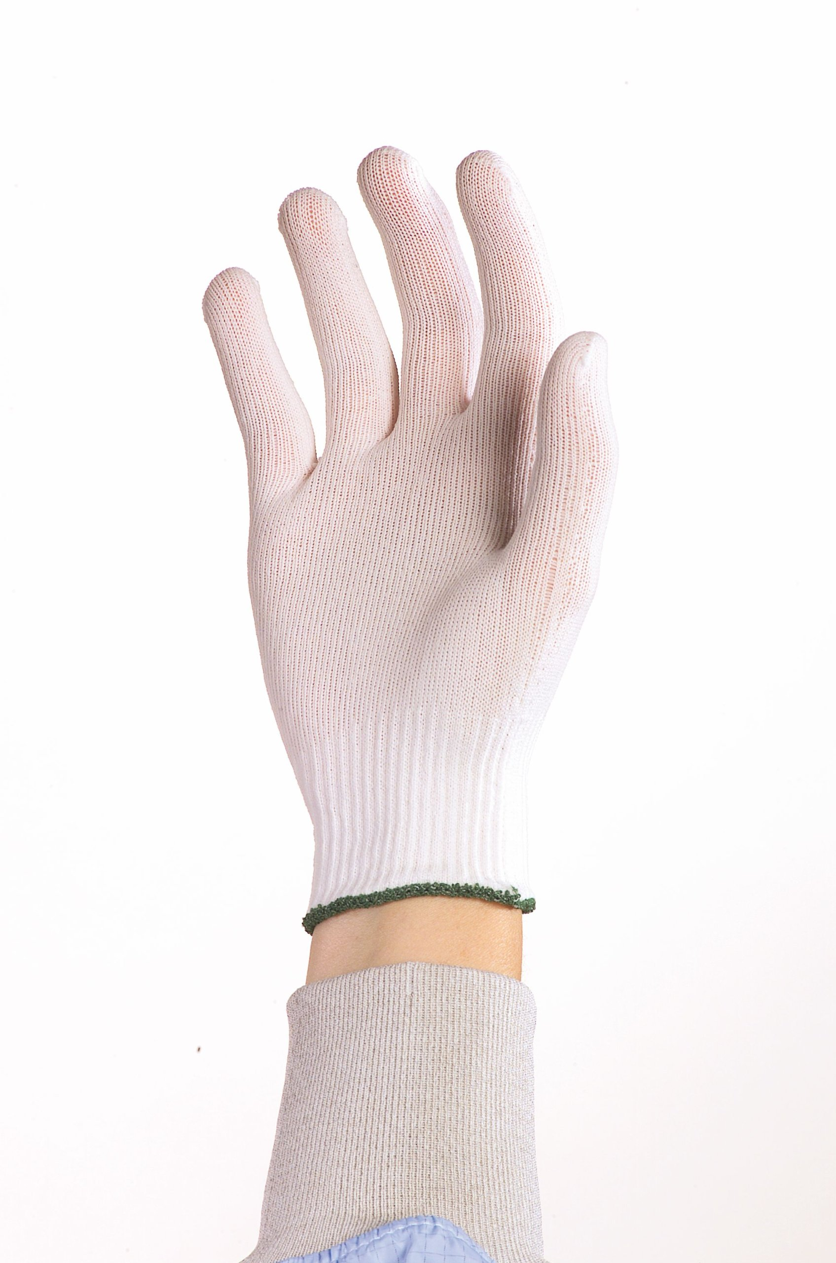 Berkshire BCR Polyester Full-Finger Glove Liners, Large Size (Case of 20 Packs)