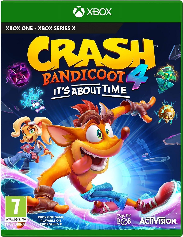 Xbox One - Crash Bandicoot 4: Its About Time - [Versión Italiana]: Amazon.es: Videojuegos