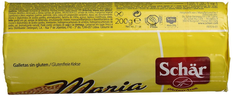 Dr. Schar Galleta Maria SIN GLUTEN - 200 gr