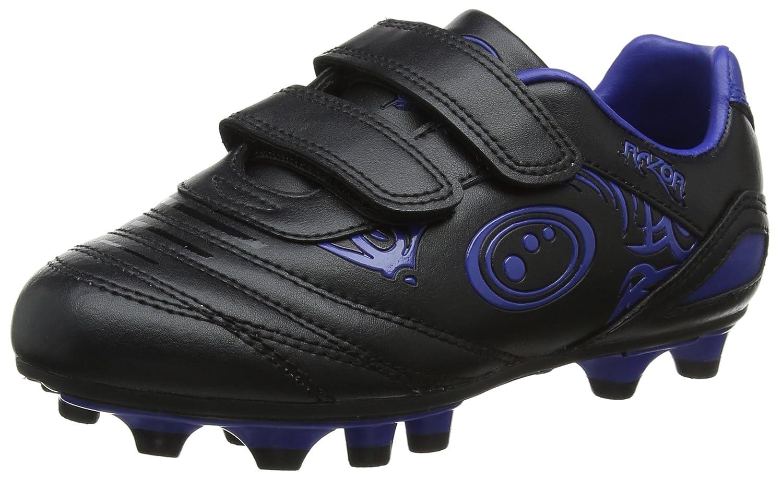 Optimum Razor Velcro Moulded Stud, Botas de fútbol para Niños