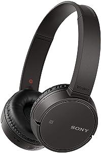 Sony MDR-ZX220BT On-Ear Wireless Headphones with Mic (Black)