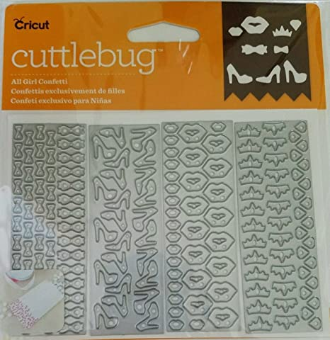 Cricut Cuttlebug Cut and Emboss Templates ~All Girl Confetti~
