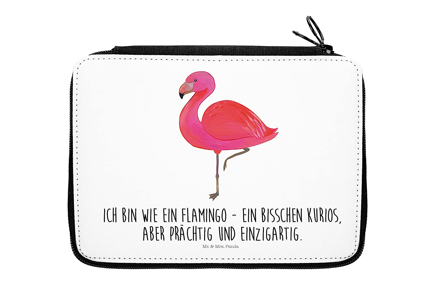 /& Mrs Panda Federmappe Flamingo classic Mr