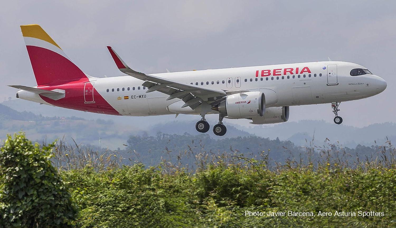 Herpa 533027 Iberia Airbus A320 Neo Wings//avi/ón para coleccionar