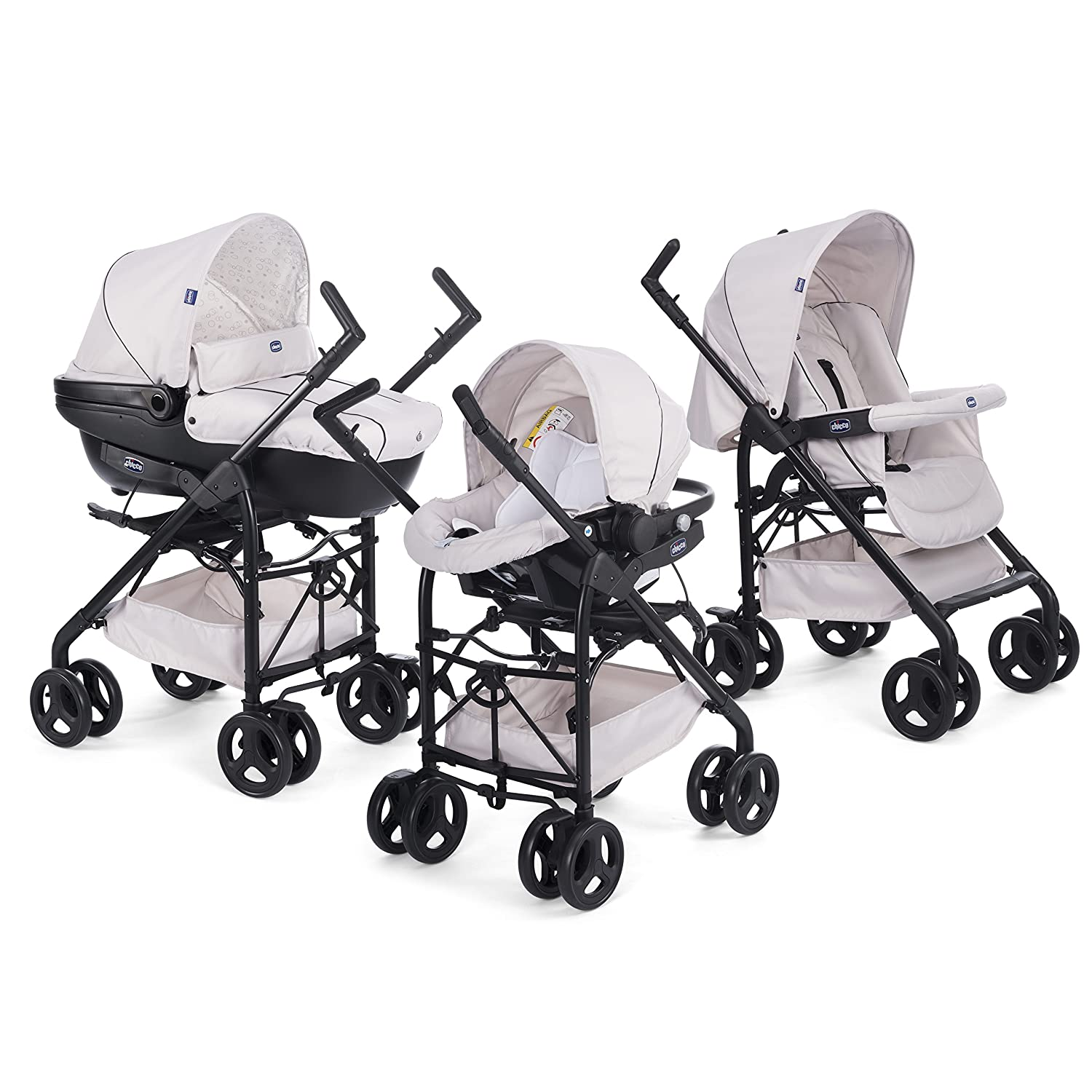 Chicco Trio-System Sprint Black with Car Kit 065f559ea2e