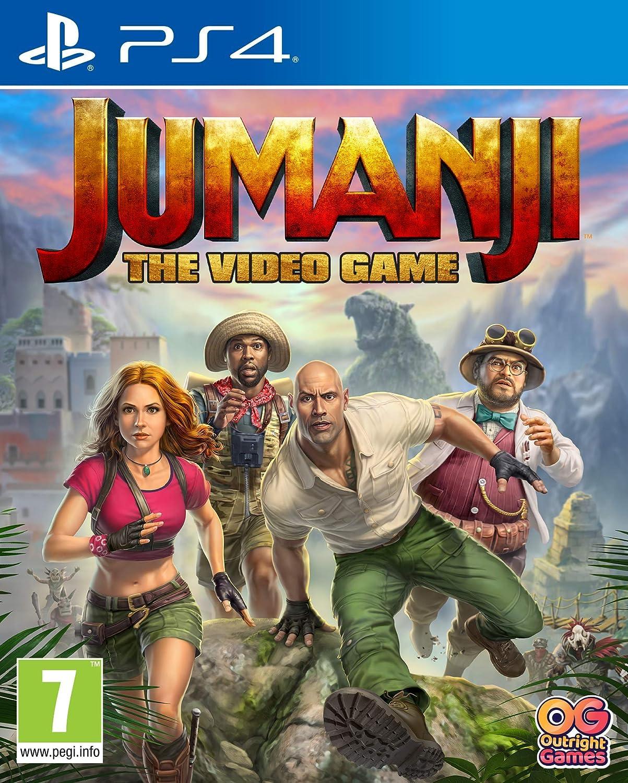 Amazon Com Jumanji The Video Game Ps4 Video Games