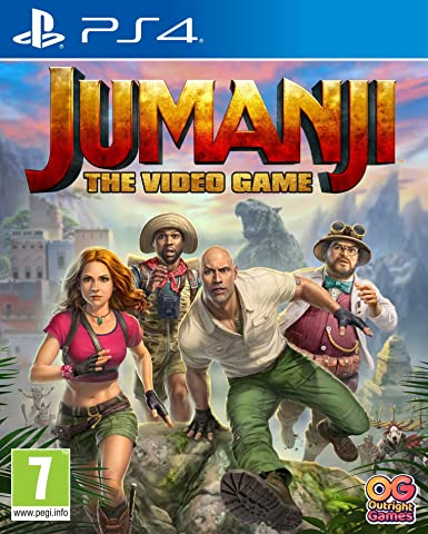 Amazon.com: Jumanji: The Video Game (PS4): Video Games