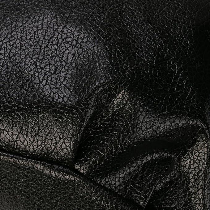 Bolsos de Cubo de Mujer Casual Bolsos de Hombro de Las Señoras de Moda Bolso Bandolera Color Sólido Bolsos Totes para Mujeres Chicas y Niñas Bolsa de ...