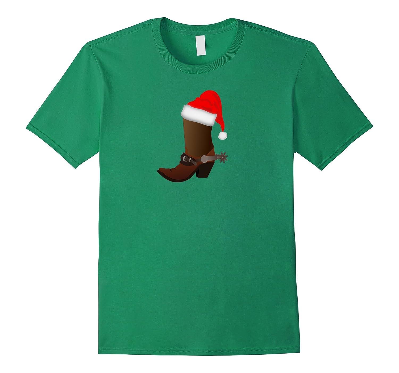 Rodeo Boots Cowboy Holiday T-Shirt Shirt-T-Shirt