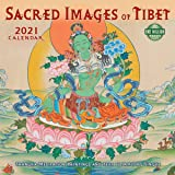 Sacred Images of Tibet 2021 Wall Calendar: Thangka Meditation Paintings