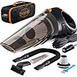 Portable Car Vacuum Cleaner: High Power Corded Handheld Vacuum w/ 16 foot cable - 12V - Best Car & Auto Accessories Kit…
