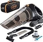Portable Car Vacuum Cleaner: High Power Corded Handheld Vacuum w/ 16