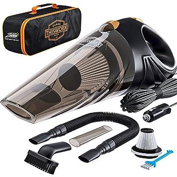 THISWORX 16ft Handheld Car Vacuum Cleaner