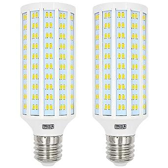 MENGS® 2 unidades E40 40 W Bombilla LED 280 X 5730 SMD Blanco cálido 3000