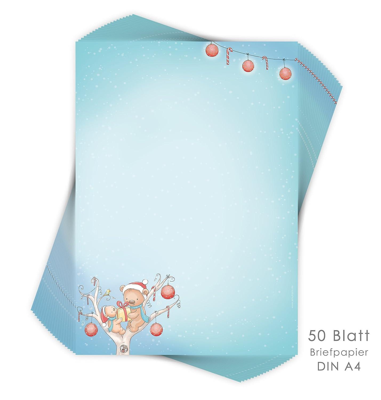 'Child's Christmas Letter Paper