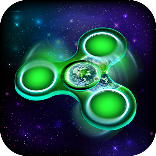 Space Fidget Spinner Antistress App: Rest and Relax Virtual ...