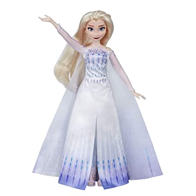 Disney Frozen Musical Adventure Elsa Singing Doll, Sings Show Yourself Song from 2 Movie, Elsa Toy for Kids, Model Number: N/A: Toys & Games