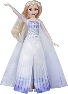 Disney Frozen Musical Adventure Elsa Singing Doll, Sings Show Yourself Song from 2 Movie, Elsa Toy for Kids, Model Number: N/A
